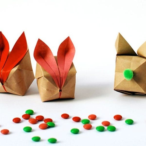 Hop to It and Make These Origami Easter Bunnies!
