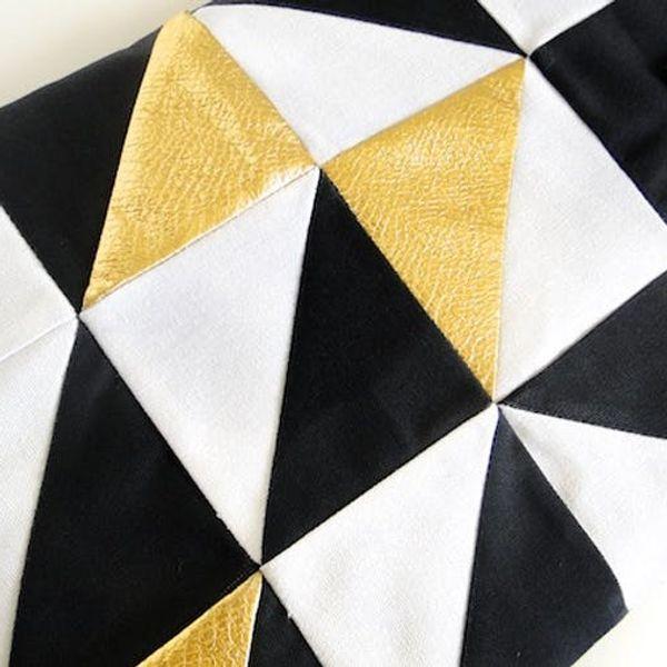 Shoutout: Über-Chic DIY Geometric Laptop Sleeve