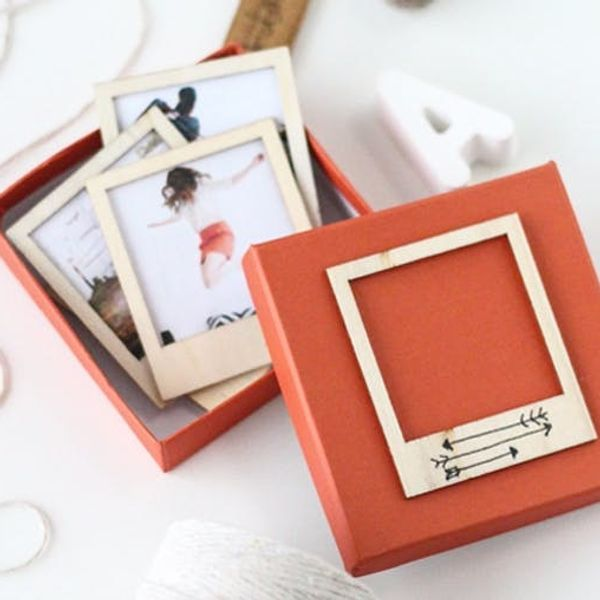 Shoutout: Make These Wooden Polaroids for Someone You Love