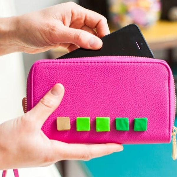 Use Colorful Clay to Add 3D Flair to Your Clutch Bags