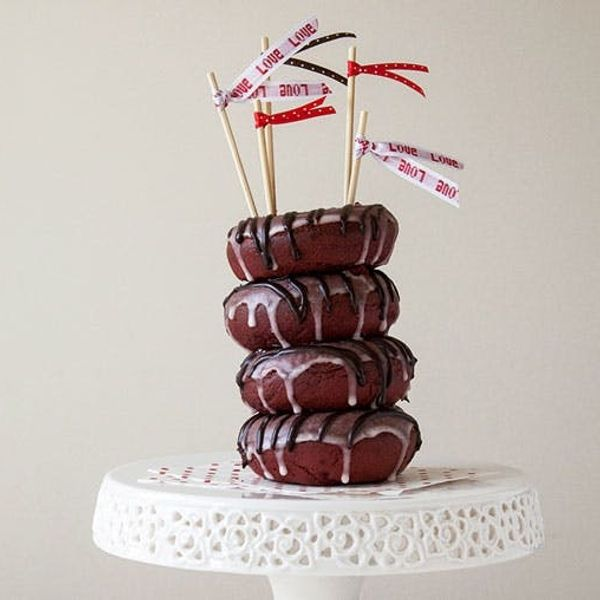A Spicy Red Velvet Cake Made of Donuts. Oh Yeah, We Made It!