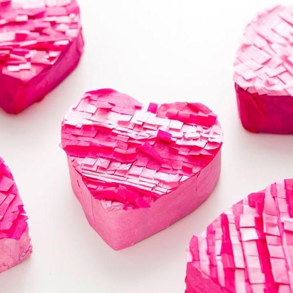 """DIY Piñata Valentines That """"Burst"""" With Love"""