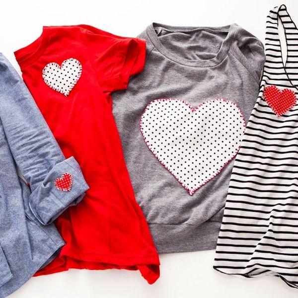 4 Ways to Wear Your Heart on Your Sleeve *and* Your Shirt!