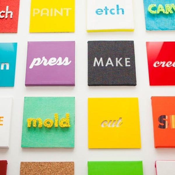 5 Clever Ways to Turn Words into Wall Art