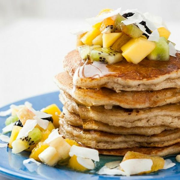 Kickstart Your Day With Our Tropical Almond Pancakes (Gluten-Free!)