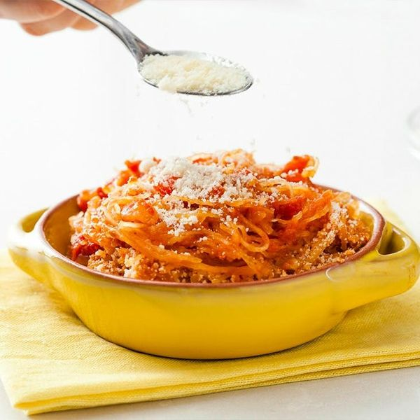 "Keep Those Resolutions In Check with Our Spaghetti Squash ""Pasta"""