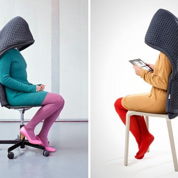 The BritList: Chair Hoodies, a Seven Person Tricycle, and More