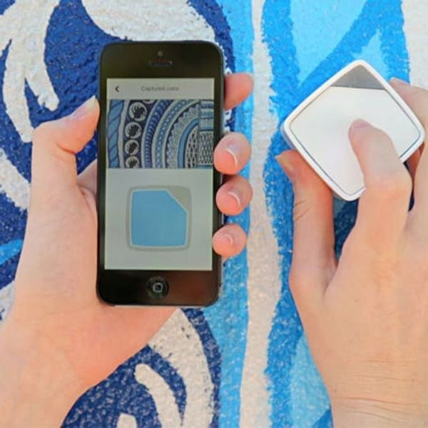 This Magical Cube Lets You Capture Every Color You See