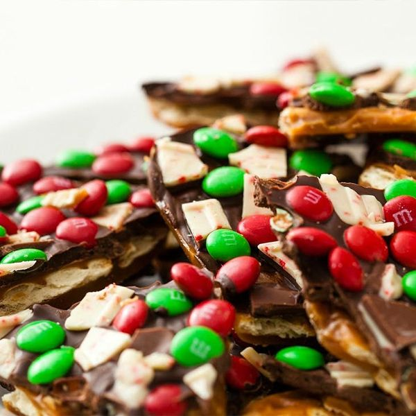 """Get Into the Christmas """"Spirit"""" with Our Boozy Peppermint Toffee Recipe"""
