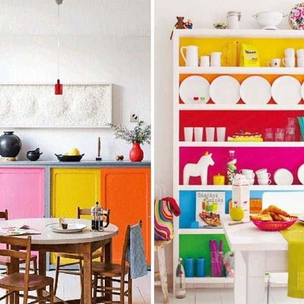 10 Bold Color-Blocked Interiors and Exteriors
