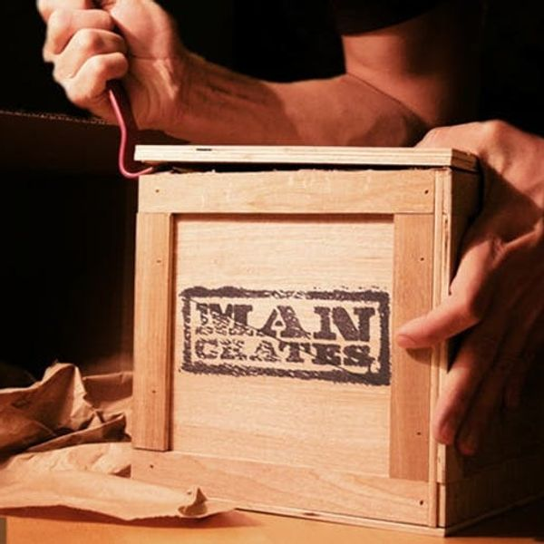 A Present You Need a Crowbar to Open? Behold, Man Crates!