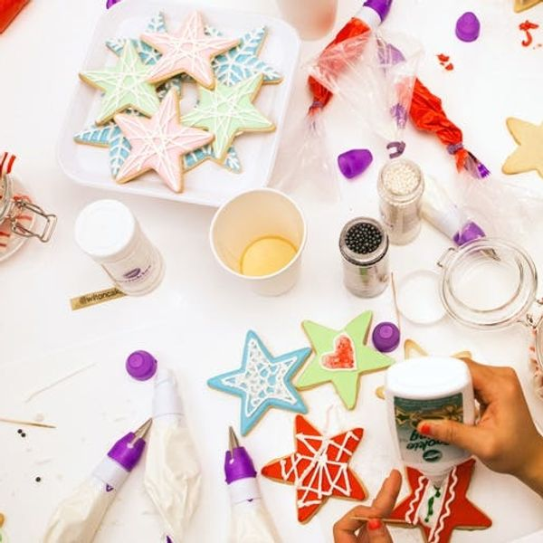 Behind the Scenes: Christmas Cookie Decorating at Brit + Co!