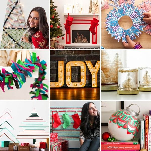 9 Seriously Clever Holiday Decor Ideas for Small Spaces