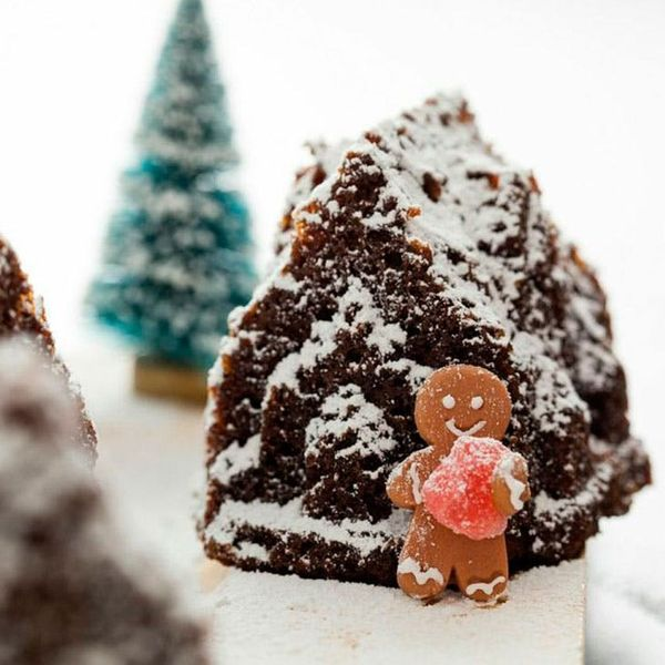"""The """"Sweetest"""" Gingerbread Holiday Village Recipe Ever"""