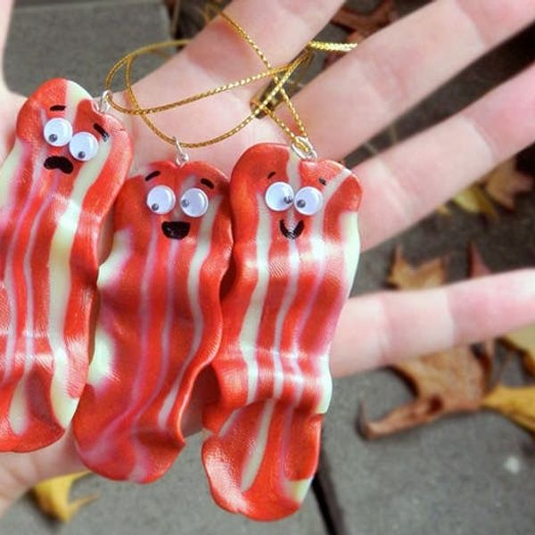 Unicorns, Tuna, and Bacon, Oh My! 12 Odd Ornaments to Buy