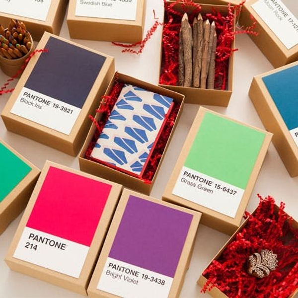 Make This DIY Pantone Advent Calendar in Under 5 Minutes