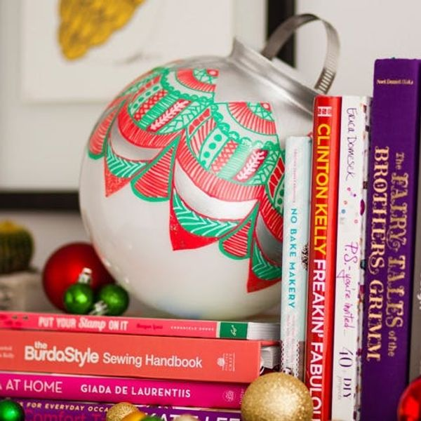 The Biggest DIY Ornament You'll Ever Make