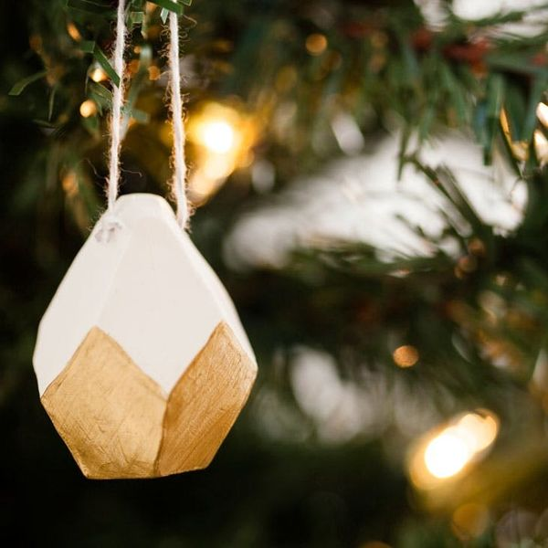 Now On Sale! Geometric Clay Ornament Kit