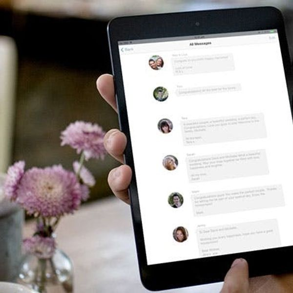 Finally, Your Guestbook Can Be Beautiful and Digital