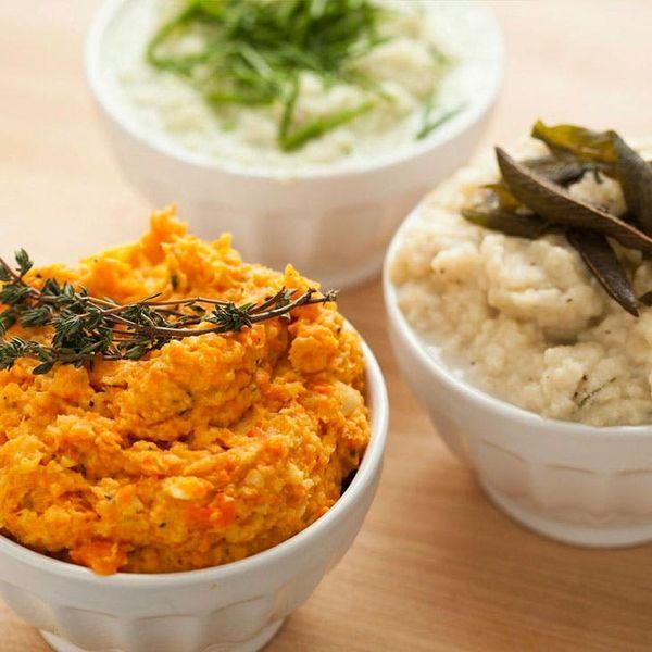 3 Healthy Alternative Mashed Potato Recipes