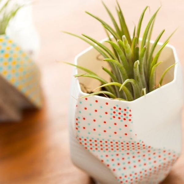 Deck Out 3D Printed Vases with Washi Tape