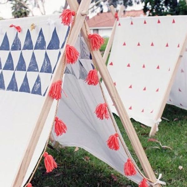 10 Dreamy DIY Tents, Forts, and Teepees