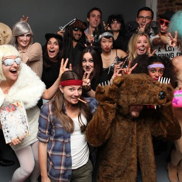 10 DIY Moments from the Brit + Co. Halloween Party!