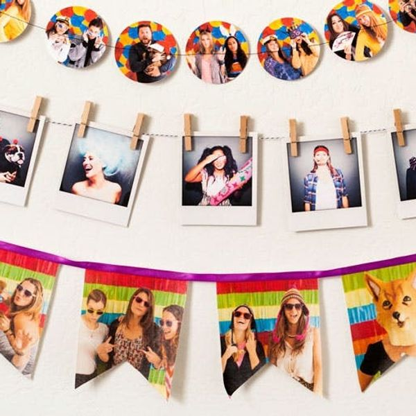 3 Ways to Turn Photos into Custom Garlands