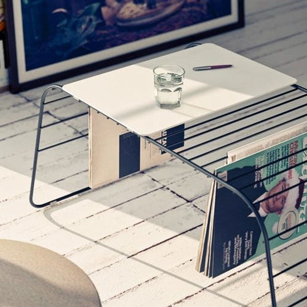 Made Us Look: A Beautiful Coffee Table and Magazine Rack in One