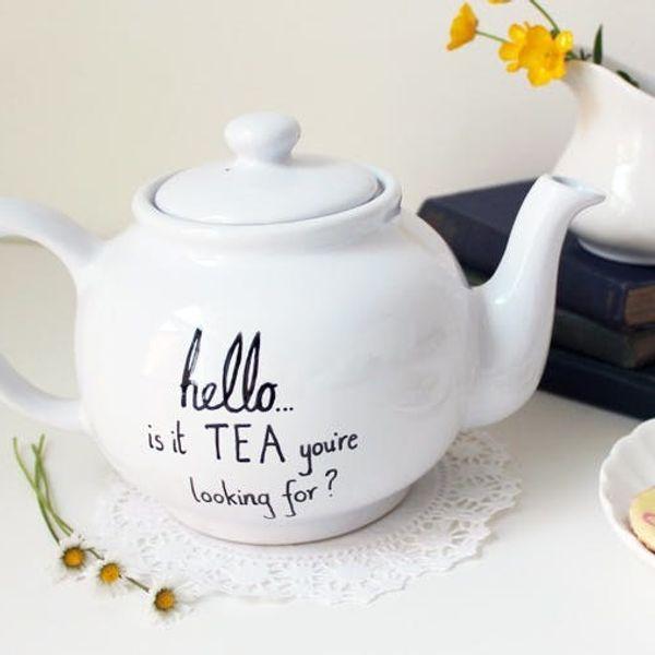 12 Terrific Teapots that Double as Decor