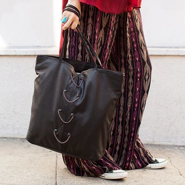 Try This Foolproof Way to Glam Up Your Bag