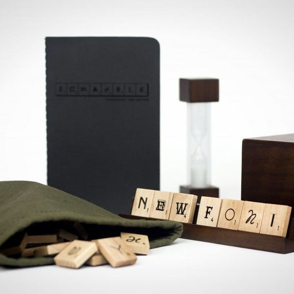 Made Us Look: Limited Edition Typography Scrabble