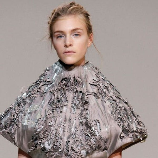 Made Us Look: 3D Printed Couture Hits the Runway