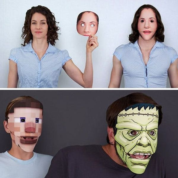 Now You Can Turn Any Photo Into an Uncomfortably Realistic Mask