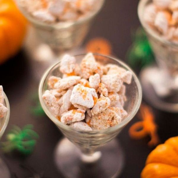Grab a Handful of Our Pumpkin Seed Puppy Chow
