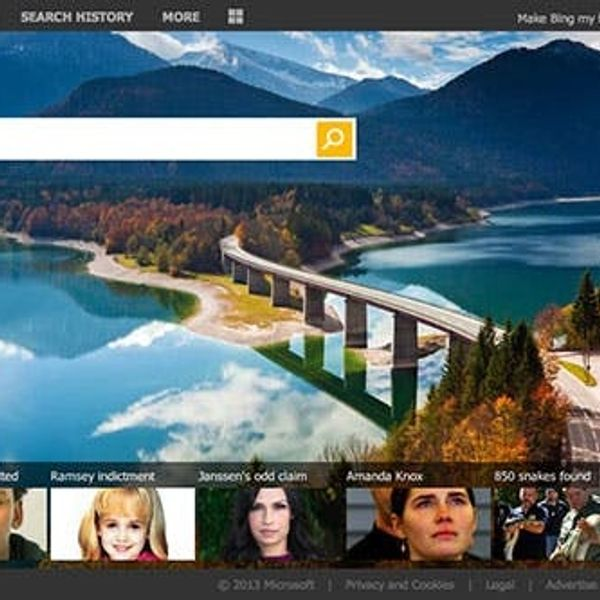 Our Favorite Things About Bing's New Redesign
