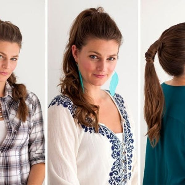 Hair Hacks: 3 Ways To Take Your Ponytail to the Next Level