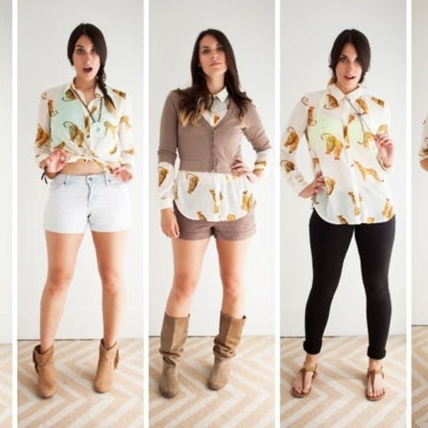 5 Ways to Rock a Wild Button Down (+ 10 Shirts We'd Buy!)