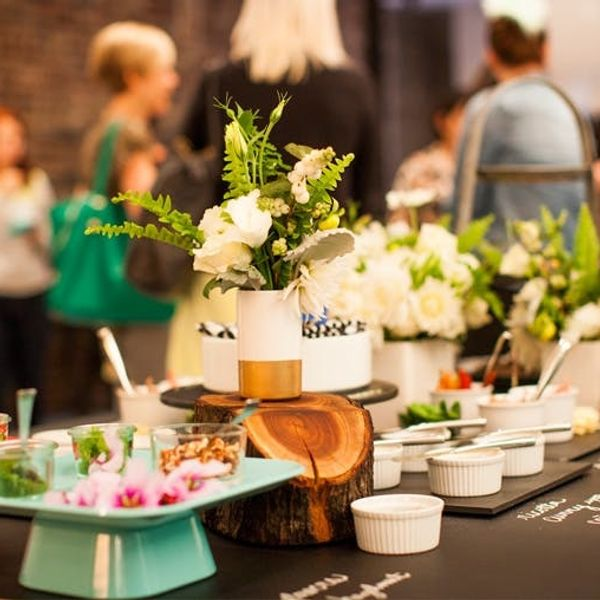 Peek Behind the Scenes at the Brit + Co. Tea Party!