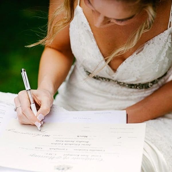 So, You're Getting Married in a Month? 12 Things to Check Off Your List