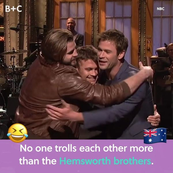 No One Trolls Each Other More Than The Hemsworth Brothers