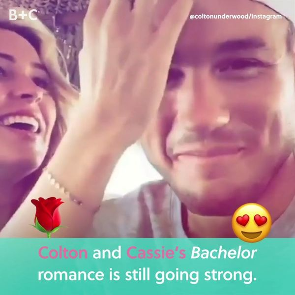 Cassie and Colton's Bachelor Romance Is Still Going Strong