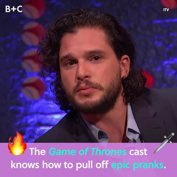 The Game of Thrones Cast Knows How To Pull Epic Pranks