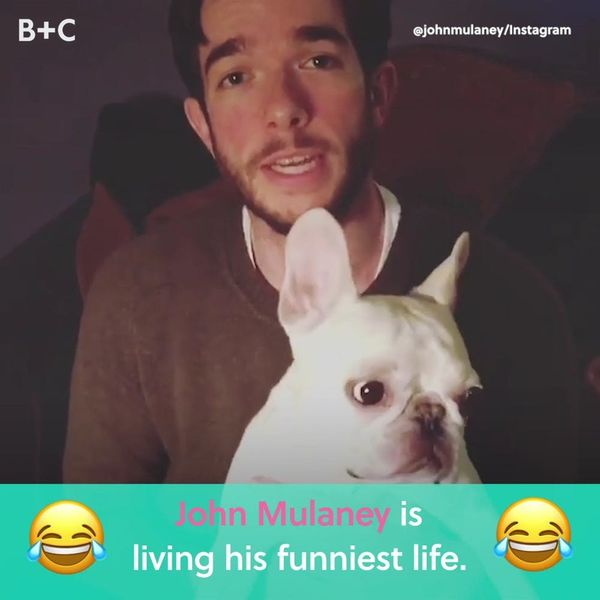John Mulaney Is Living His Funniest Life