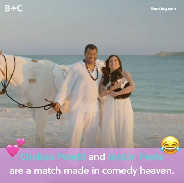 Proof That Chelsea Peretti and Jordan Peele Are a Match Made In Comedy Heaven