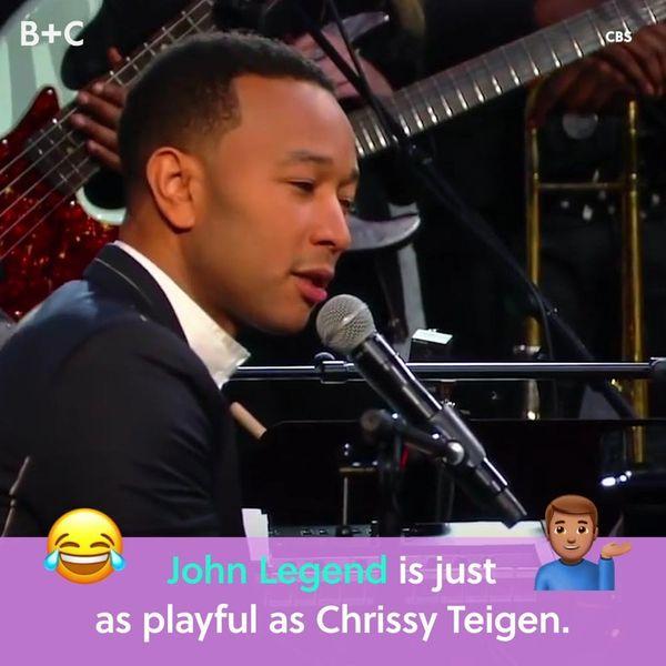 John Legend Is Just as Playful as Chrissy Teigen