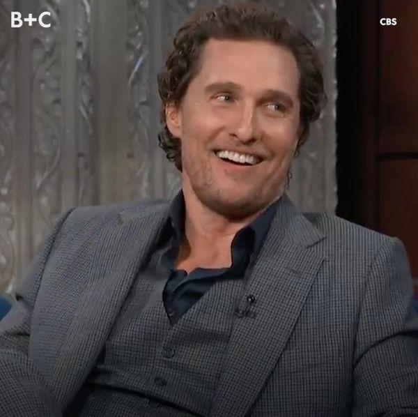 Let's All Take a Moment to Appreciate Matthew McConaughey