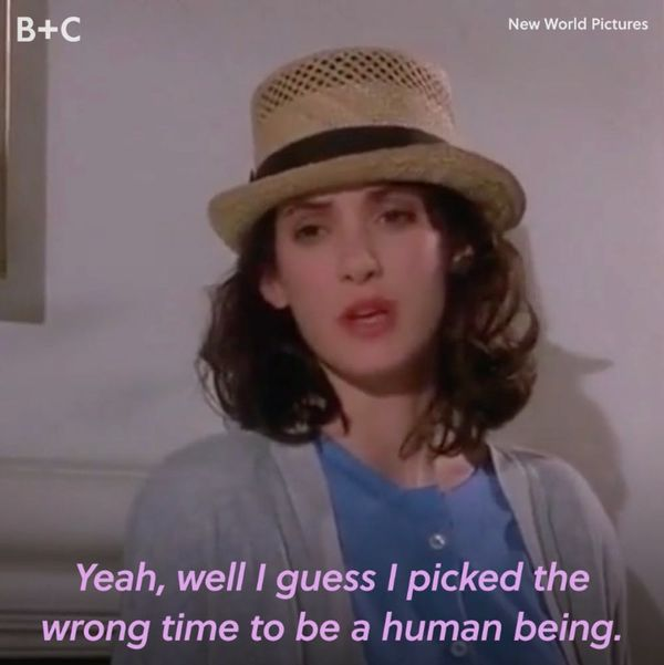 TBH, These Classic Winona Ryder Characters Speak to Our Spooky Side