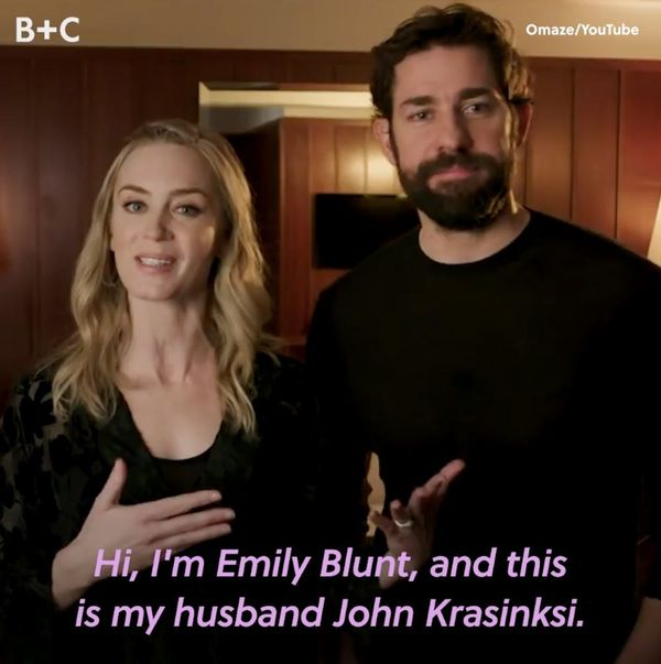 FYI, John Krasinski & Emily Blunt Are as Down to Earth as They Are Cute