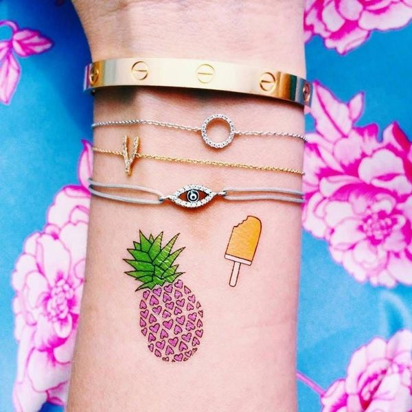 How One Artist Created a Chic Tattoo Brand Out of Her Dorm Room